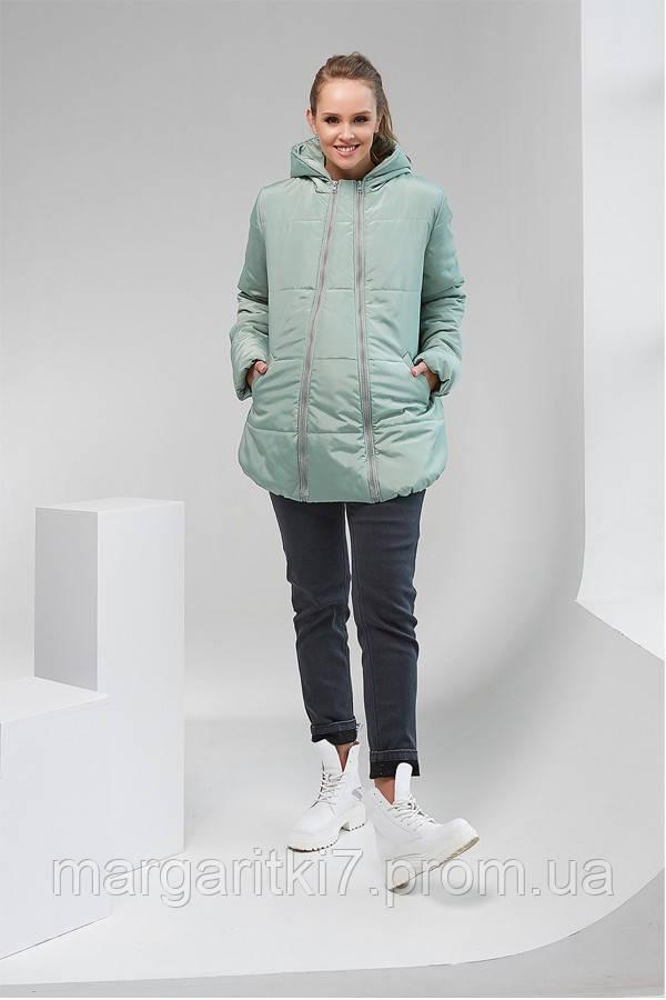 Зимняя куртка 2в1 для беременных Alexa Dianora 1780 фисташковая