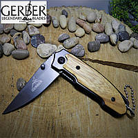 """Раскладной нож Gerber """"Малыш"""". Нож с подвесом, карманный, туристический, городской."""