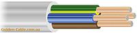 Провод соединительный ПВС 4х1 завод ЗЗЦМ, круглый, медный, четырехжильный, заводской.