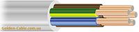 Провод соединительный ПВС 5х0,75 завод ЗЗЦМ, круглый, медный, пятижильный, заводской.