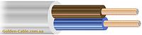 Провод соединительный ПВС 2х1.5 завод ЗЗЦМ, круглый, медный, двужильный, заводской.