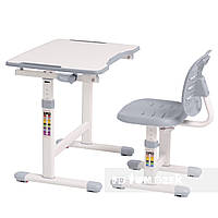Комплект парта + стул трансформеры omino grey fundesk FUNDESK