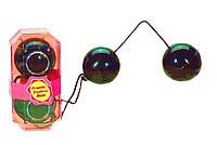 Вагинальные шарики DUO-TONE BALLS, BLACK