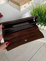 Женский лаковый кожаный кошелёк Balisa Light бронзовый, фото 2