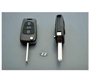 Корпус выкидного ключа HYUNDAI i10 i20 i30 ix35 i40 ix35 3 кнопки DAKEY