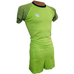 Воротарська форма (футболка шорти) Swift, Mal (н. салатовий) р. XL