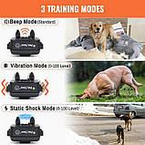 Электроошейник для собаки для дрессировки электронный Petrainer 620A-1 с 3-ми видами воздействия,, фото 2