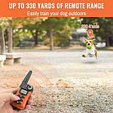 Электроошейник для собаки для дрессировки электронный Petrainer 620A-1 с 3-ми видами воздействия,, фото 5