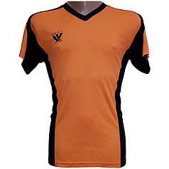 Футболка футбольна SWIFT 13 Noviembre Tactel (оранжево/чорна) M р.