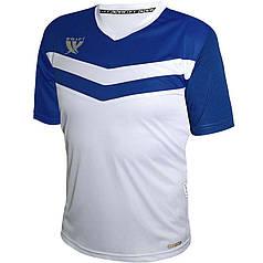 Футболка футбольна Swift Romb CoolTech (біло/синя)