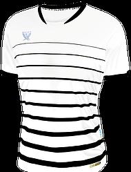 Футболка футбольная Swift FINT CoolTech (бело/черная) р.М