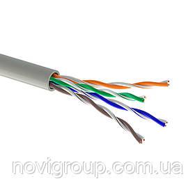 Кабель Одескабель КПВ-ВП (350) 4 * 2 * 0,51 (UTP-cat.5Е), OK-net, CU, для внутр. робіт, 500м.