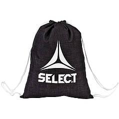 Мешок для обуви SELECT GYM BAG LAZIO,(010) чорний, 9 L)