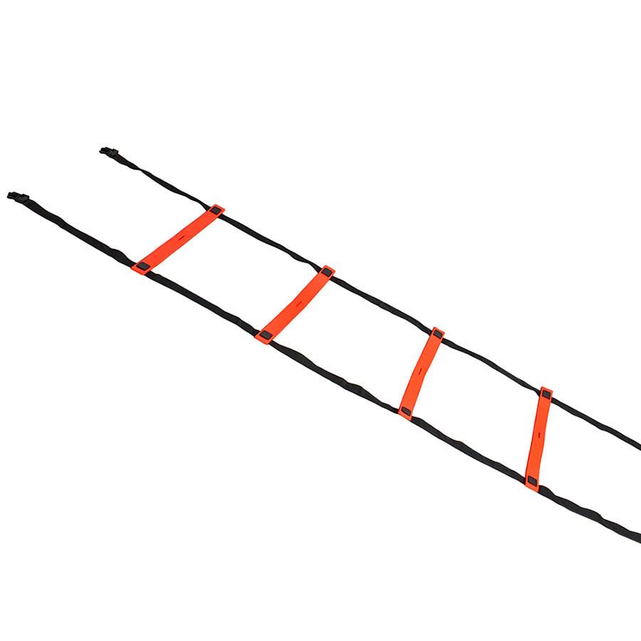 Координационная лестница SELECT Agillity ladder - indoor (216), оранж/черн (14 ступеней, 6 м)
