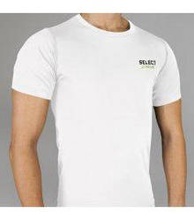 Термобілизна SELECT Compression T-Shirt with short sleeves 6900 біла p.S