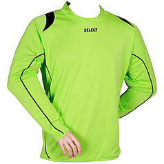 Свитер вратарский SELECT Goalkeeper Shirt Spain (салатовый) р.XXL