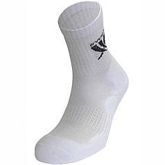 Шкарпетки спортивні професійні високі, білі р. 27