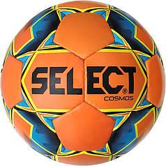 Мяч футбольный SELECT Cosmos Extra Everflex, (012)  оранж/син  р.4
