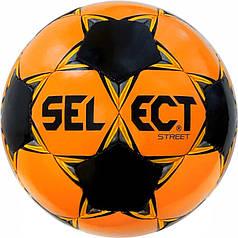 М'яч футбольний SELECT Street (048) оранж/чорний, розмір 5