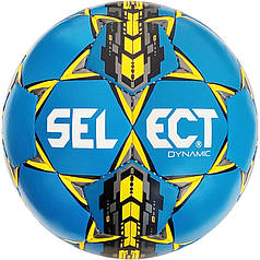 Мяч футбольный SELECT Dynamic (016) сине/желт/черн размер 5