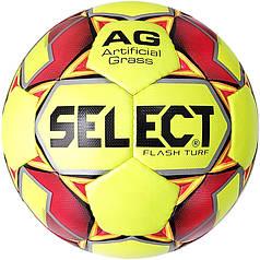М'яч футбольний SELECT Flash Turf (013) жовтий/красн розмір 4