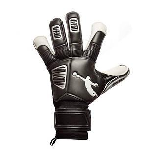Перчатки вратарские BRAVE GK RESQUER BLACK/WHITE p.9, фото 2