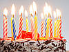 Торт на день рождения.