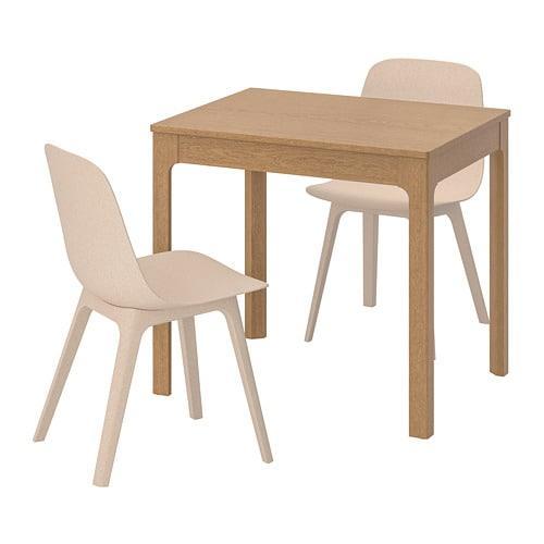 ЭКЕДАЛЕН / ОДГЕР, Стол и 2 стула - ТОП ПРОДАЖ