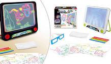 Доска для рисования  с подсветкой  3D Magic Drawing Board