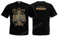 Футболка WORLD OF WARCRAFT - For The Alliance