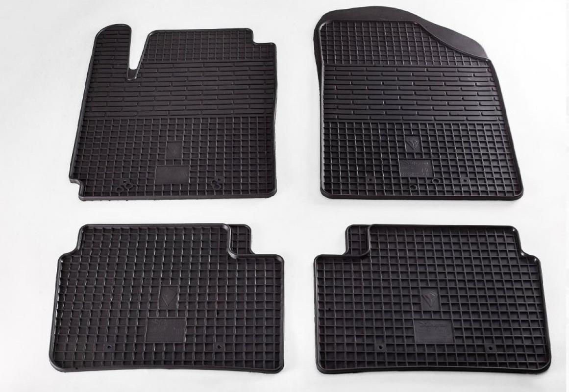 Ковры салона Kia Picanto 11-/Hyundai I10 08- (комплект - 4 шт) 1010024