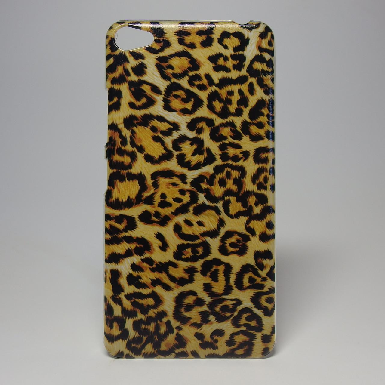 Чехол для lenovo s60 панель накладка с рисунком леопард