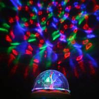 Світломузика для дому - світлодіодна лампа LED Mini Party Light Lamp, диско лампа для будинку, фото 3