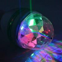 Світломузика для дому - світлодіодна лампа LED Mini Party Light Lamp, диско лампа для будинку, фото 5