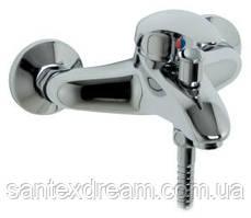 Смеситель для ванны-душа, настенный JIKA LYRA 321277, хром