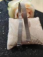 Серебряный браслет Пандора плоский 925 пробы