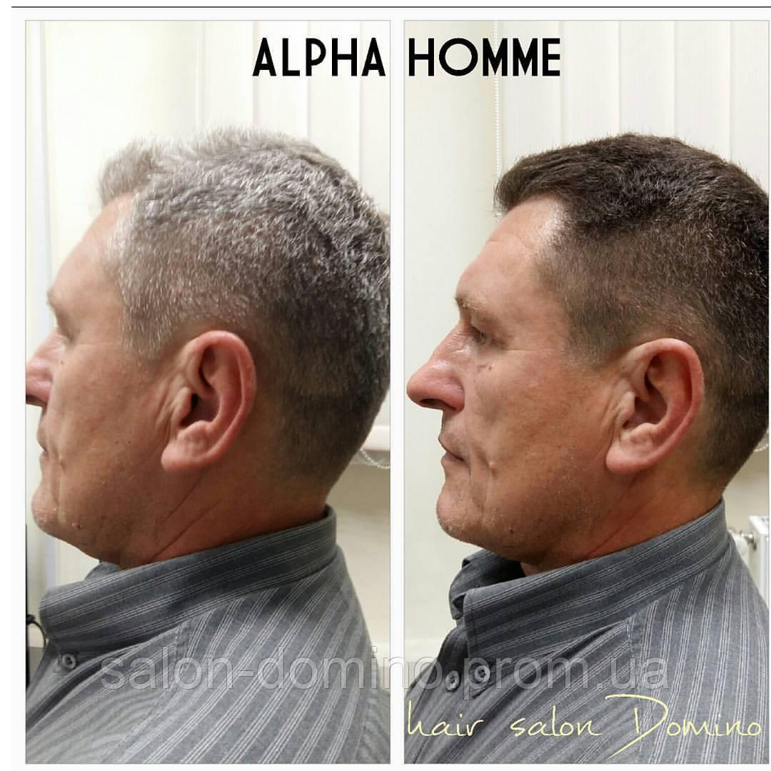 """Комуфляж сивини для чоловіків Alpha Homme, салон краси """"Доміно"""",Львів (Сихів)"""