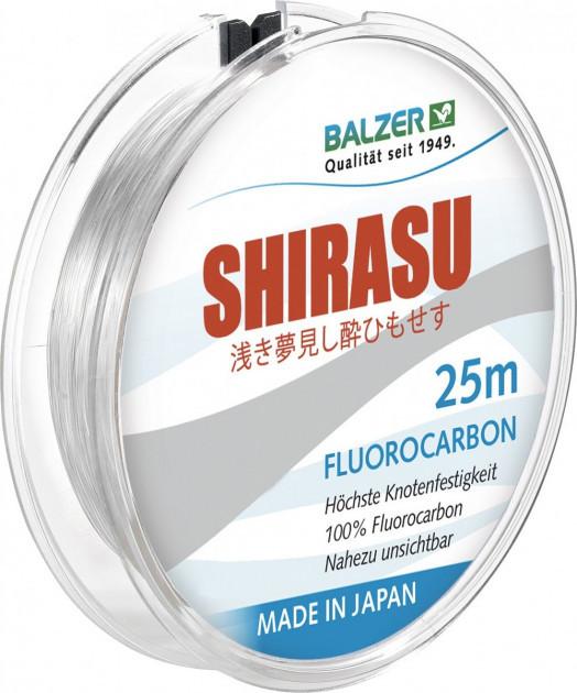 Леска Balzer Shirasu Fluorocarbon 0.25 мм 25 м