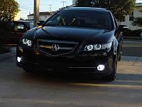 Ангельские глазки на Acura.