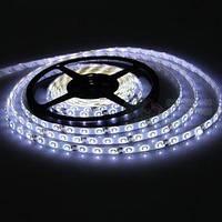 Лента Светодиодная в силиконе 3528, (60 светодиодов) 5 метров катушка White