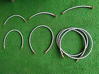 Шланг з металевою опліткою D=10 mm 1000 mm