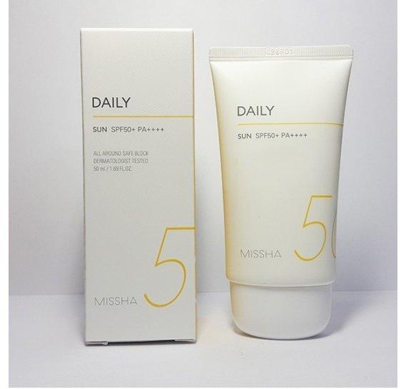 All Around Safe Block Daily Sun SPF50+/PA++++ Солнцезащитный крем для тела 50мл