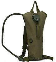 Рюкзак туристический с питьевой системой ABX B09 Оливковый