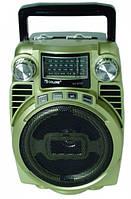 Радиоприемник портативный с выдвижной антенной Golon RX BT03 Gold