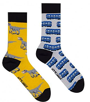 Носки Sammy Icon Metro 40-46 Black/Blue/Yellow