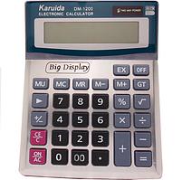 Калькулятор бухгалтерский большой настольный Karuida DM-1200V