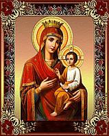 Алмазная вышивка мозаика Чарівний діамант икона Богородица Скоропослушница КДИ-0860 40х50см 30цветов