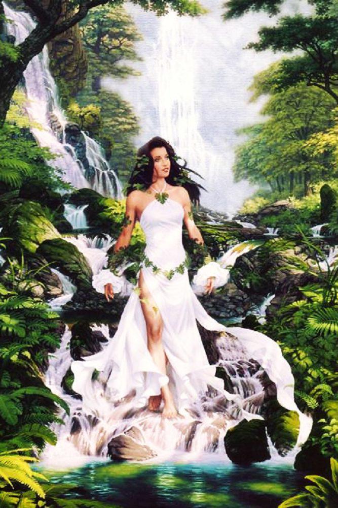 Алмазная вышивка мозаика Чарівний діамант Красота и гармония КДИ-1025 40х60см 30цветов квадратные полная