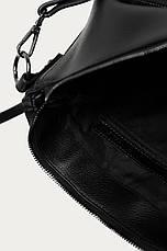 Чёрная женская сумочка формата A4 Medicine, фото 3