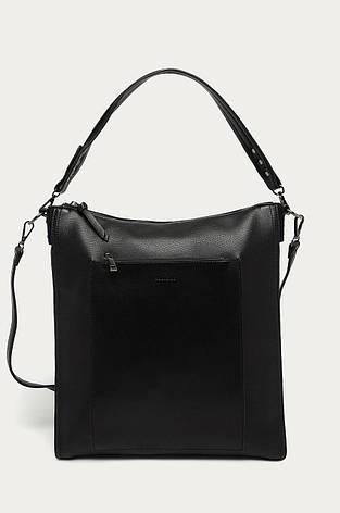 Чёрная женская сумочка формата A4 Medicine, фото 2